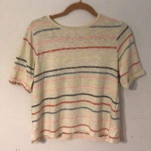 Anthropologie Postmark Top Size S